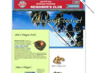 malaysianfood.net screenshot