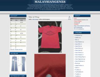 malaysiangenes.blogspot.com screenshot