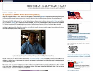 malaysianheart.blogspot.com screenshot