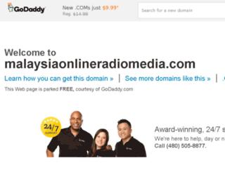 malaysiaonlineradiomedia.com screenshot