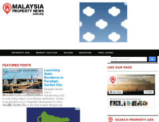 malaysiapropertynews.net screenshot