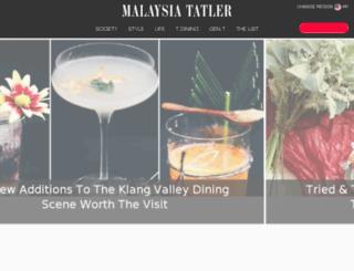malaysiatatler.com screenshot