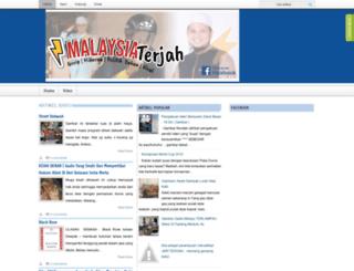 malaysiaterjah.blogspot.com screenshot