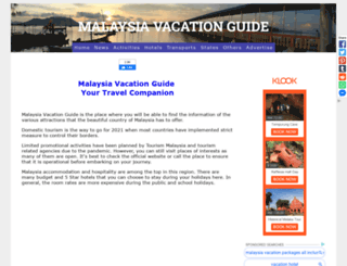 malaysiavacationguide.com screenshot