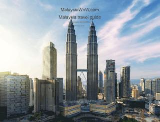 malaysiawow.com screenshot