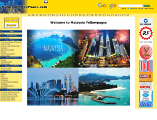 malaysiayellowpages.com screenshot