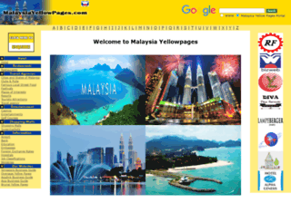 malaysiayellowpages.net screenshot
