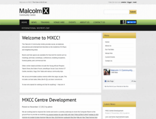 malcolmx.org.uk screenshot