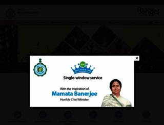 malda.gov.in screenshot