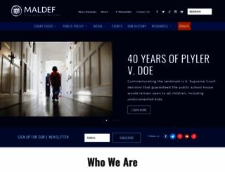maldef.org screenshot