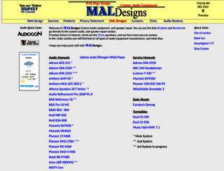 maldesigns.ca screenshot