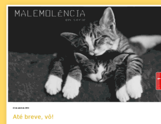 malemolenciaemserie.blogspot.com screenshot
