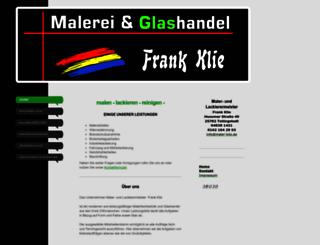 maler-klie.de screenshot