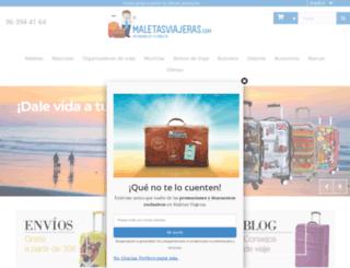 maletasviajeras.com screenshot