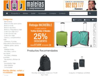 maletasycomplementos.com screenshot