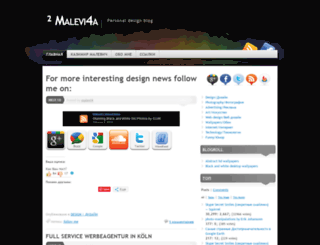 malevi4.wordpress.com screenshot