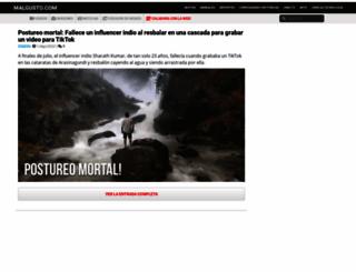 malgusto.com screenshot