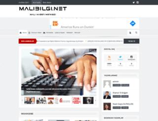 malibilgi.net screenshot