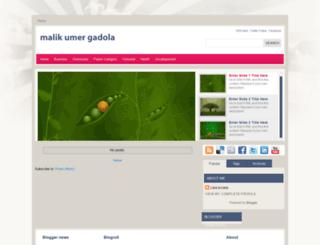 malikumergadola.blogspot.com screenshot