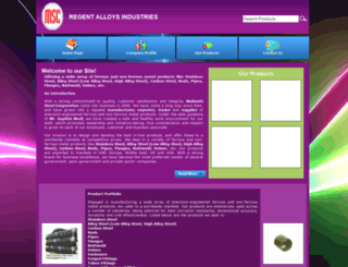 malinathsteel.tradeindia.com screenshot