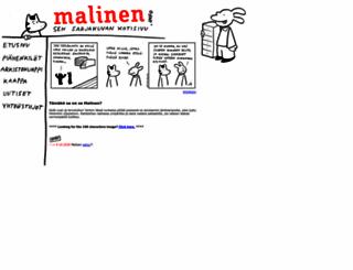 malinen.info screenshot