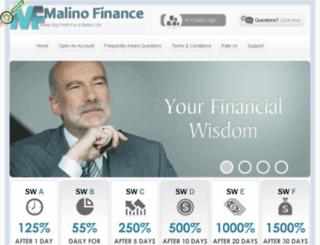 malinofinance.com screenshot