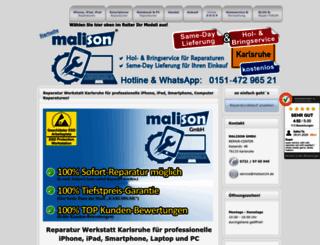 malison24.de screenshot