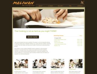 maliwancooking.com screenshot