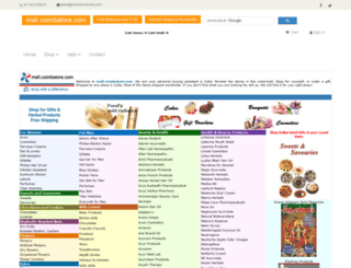 mall.coimbatore.com screenshot