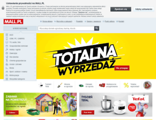 mall.pl screenshot