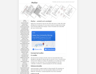 mallar.info screenshot