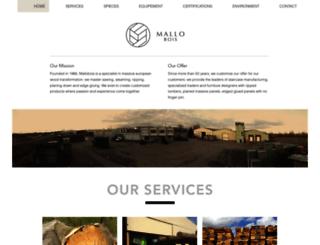 mallobois.com screenshot