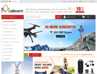 malloom.com screenshot