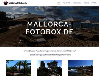 mallorca-fotobox.de screenshot