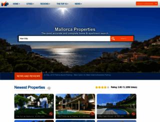 mallorca-properties.co.uk screenshot