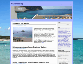 mallorcablog.org screenshot