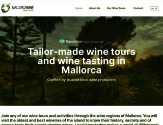 mallorcawinetours.com screenshot