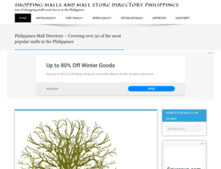 mallphilippines.com screenshot