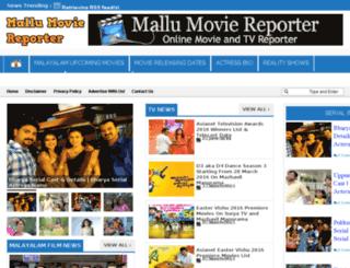 mallumoviereporter.blogspot.in screenshot