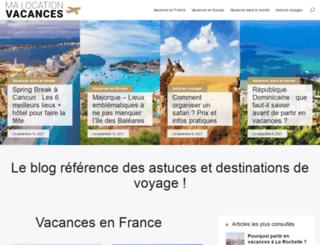 malocationvacances.fr screenshot