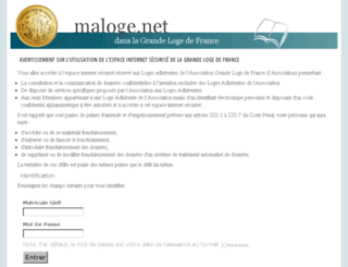 maloge.net screenshot