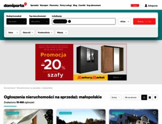 malopolskie.domiporta.pl screenshot