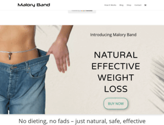 maloryband.com screenshot
