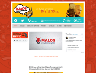 malospensamientos.com.uy screenshot