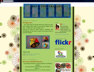 maloustvarjalno.blogspot.se screenshot