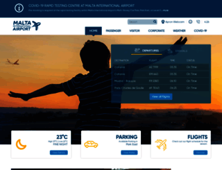 maltairport.com screenshot