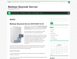 maltepe-baymak-servisi.com screenshot