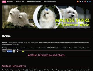 maltesestarz.com screenshot