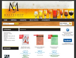 malteshop.com.br screenshot