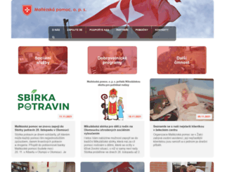 maltezskapomoc.cz screenshot